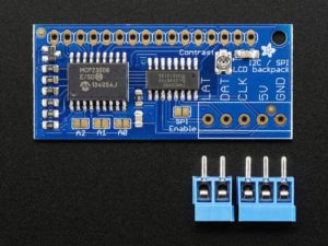 Interfacing an I2C LCD Display to PIC | Some Disassembly Required